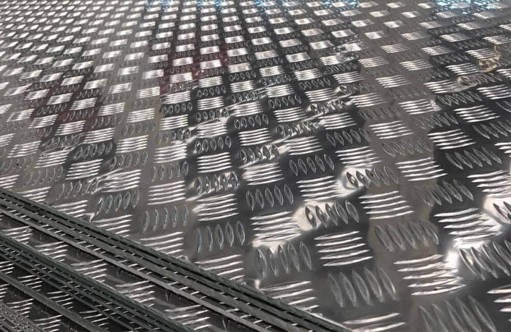 Aluminium 1070 Cold Rolled Chequered Plates