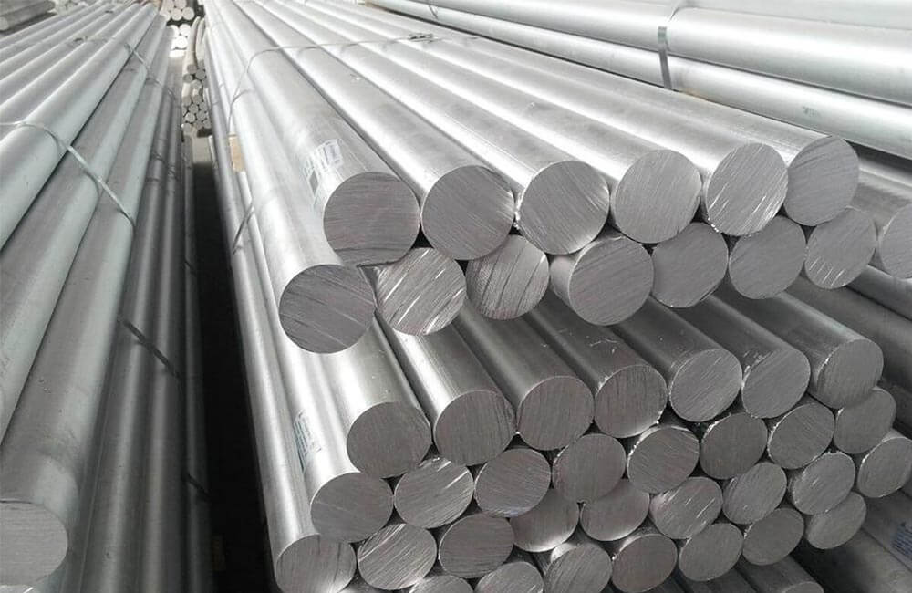 Aluminium 1100 Cold Rolled Round Bars
